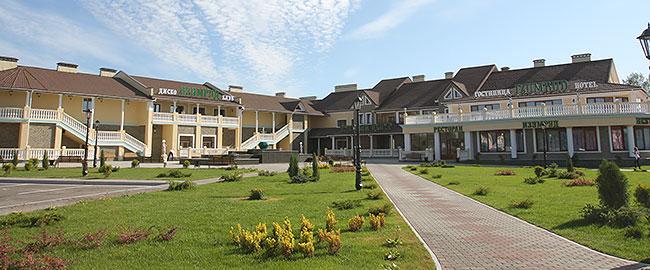 """Торгово-гостиничный комплекс """"Изумруд"""""""