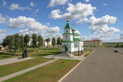 The Holy Trinity Orthodox Church in Krugloe