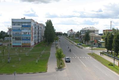 Sovetskaya Street in Krugloe
